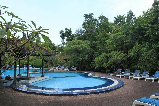Matahari Bungalow Bar & Restaurant: the pool