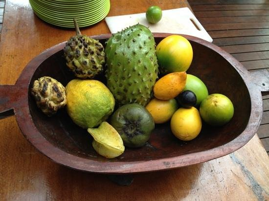 Cape Trib Exotic Fruit Farm:                                     Fruits in the tasting