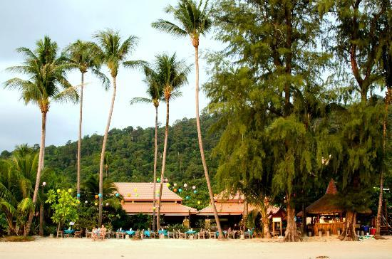 Koh Chang Paradise Resort & Spa: Beachfront View