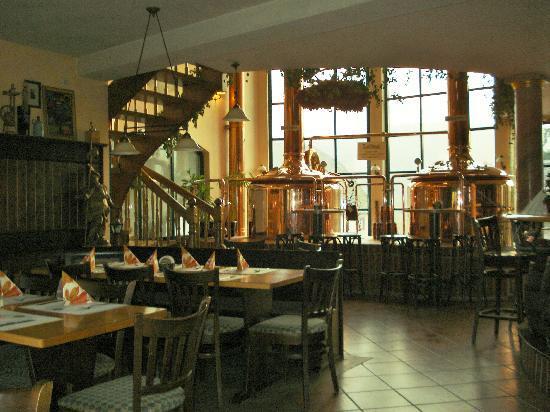Brauhaus Zils: een binnenaanzicht van het restaurant