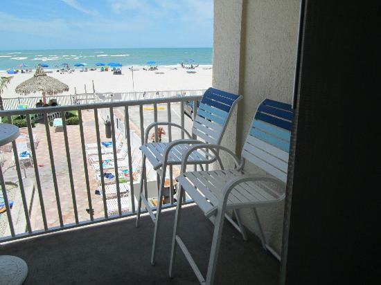 Beach Place Condos at John's Pass Village: the view