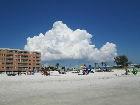Beach Place Condos at John's Pass Village: from the water