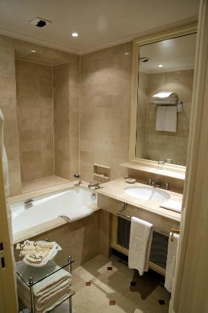 Hotel de Crillon : Salle de bain