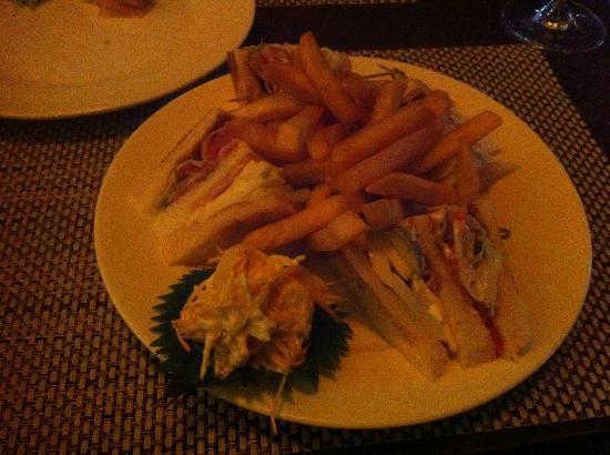 Grand Noble Hotel: Club Sandwich :)