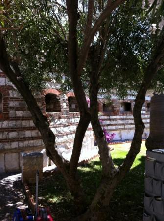 Hotel Fortino Napoleonico: scorcio giardino interno