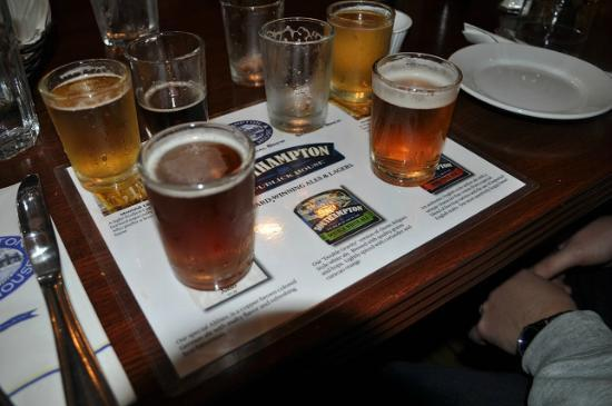 Southampton Publick House : Taste different beers insted of buying a pint