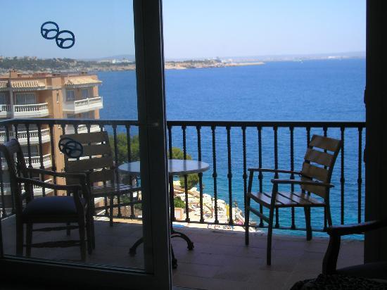 Roc Illetas Playa: View from Room Floor 8