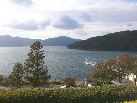 Narukawa Art Museum: 芦ノ湖と恋に効く箱根神社!