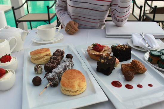 Fancourt: the Manor House free afternoon tea