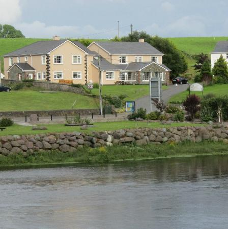Laune Bridge House from across the river