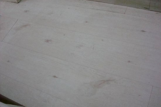 Hotel Ashoka Palace: Dirty Floor