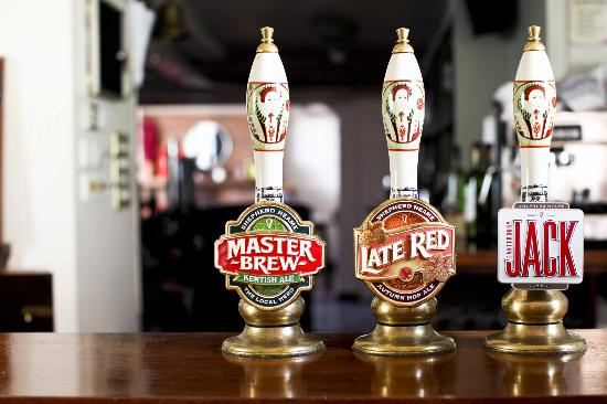 The Queens Head: Real ales always on tap