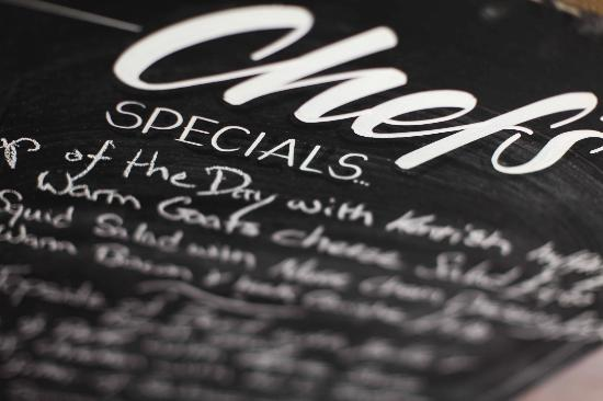 The Queens Head: Daily specials