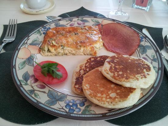 Wooden Duck B&B: delicious breakfast