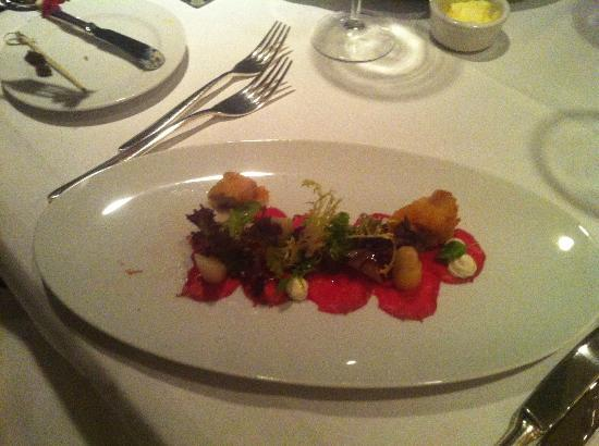 Restaurant Le Faubourg: starter
