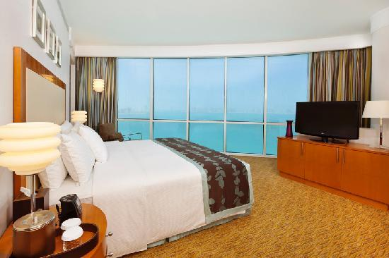 Hilton Doha: Panoramic Seaview from one of our rooms