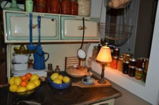 Snug Hollow Farm Bed & Breakfast: Kitchen