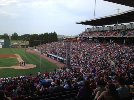 BB&T Ballpark: Full House on 4th July 2012
