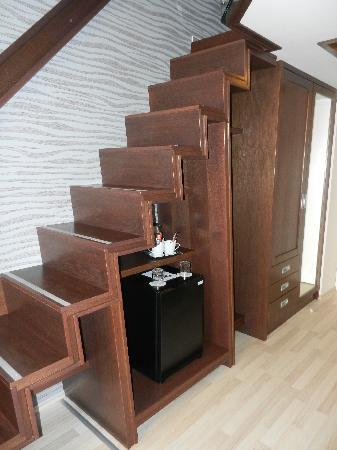 Hotel Soleil Szeged: Stairs to loft