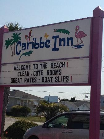 Caribbe Inn: Sign of the Carrbbe Inn