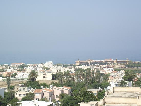 Agapinor Hotel: Sea and Paphos from room