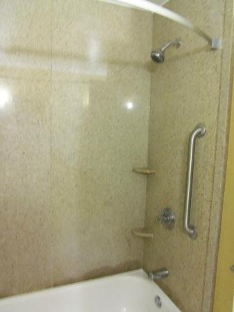 Sleep Inn & Suites University/Shands: Shower