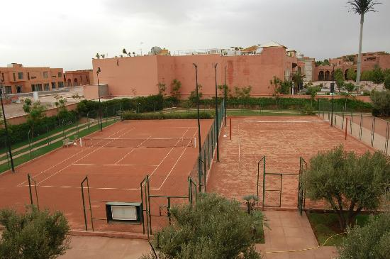 terrain de tennis et de volley picture of hotel les jardins de l 39 agdal marrakech tripadvisor. Black Bedroom Furniture Sets. Home Design Ideas
