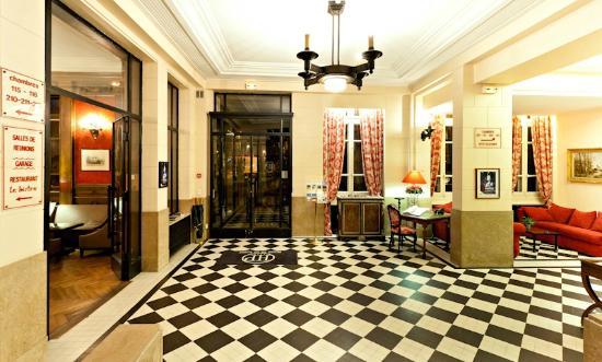 Hôtel de la Poste  : Le Hall d'accueil