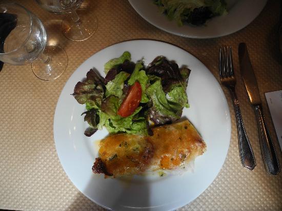 Le Bistrot de l'Universite : Secondo piatto di salmone