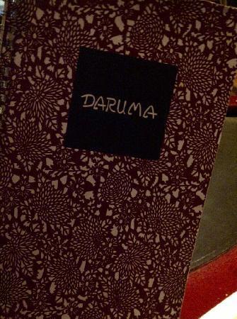 Daruma: Menu cover