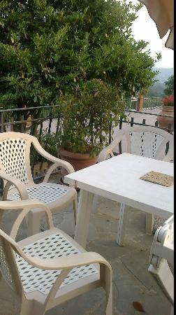 le salon de jardin avec terrasse - Picture of Fattoria degli ...