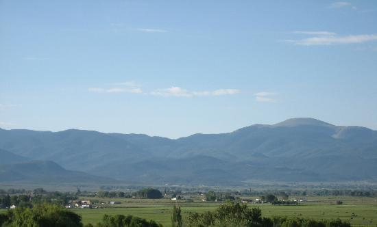 Stations of the Cross Shrine: View of Sangre De Cristo Mountains