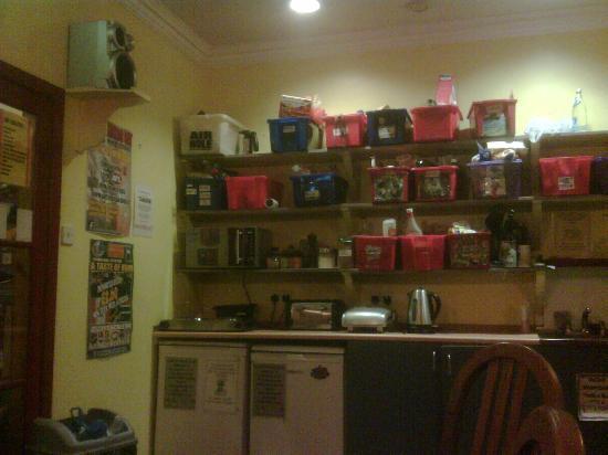 رويال مايل باكباكرز: Kitchen 