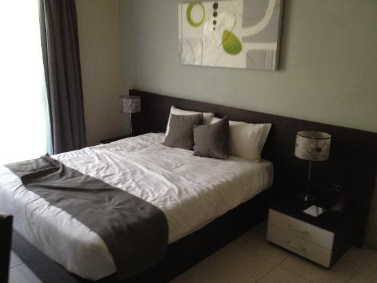 Argento Hotel: very comfy bed