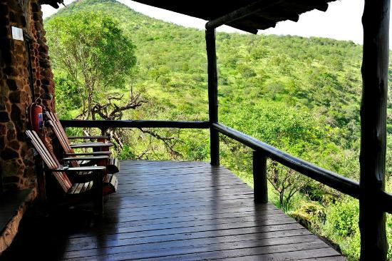 Leopard Mountain Game Lodge: main lodge