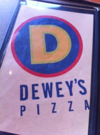 Dewey's Pizza: amazing menu