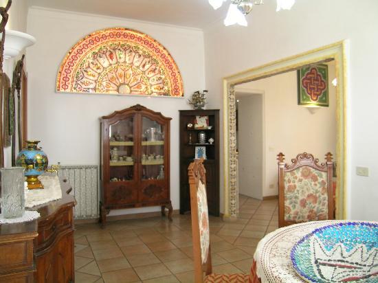 Il Mosaico B&B: il soggiorno