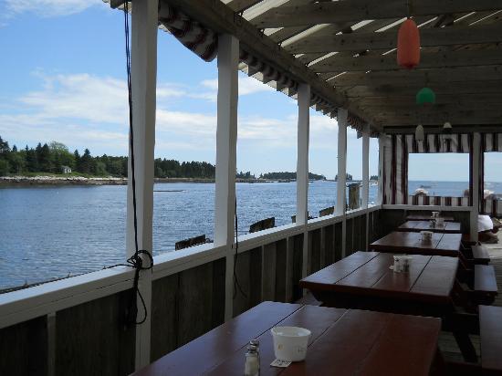 Miller's Lobster Co.: Partial View From the Deck