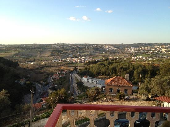 Casa Miradouro: the view from our balcony