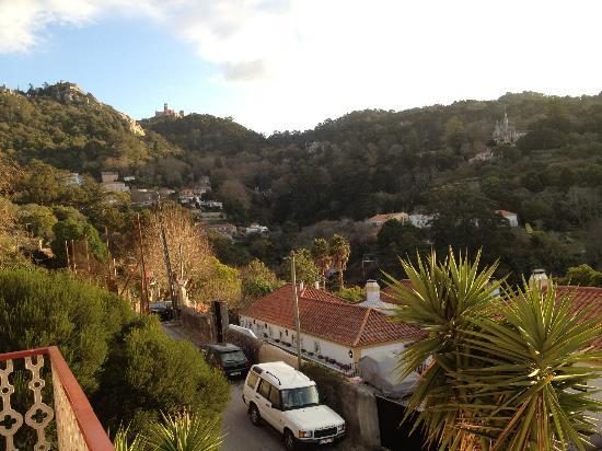 Casa Miradouro: the view from the other side of the balcony