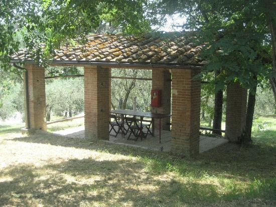 Fattoria Barbialla Nuova: outdoor dining area