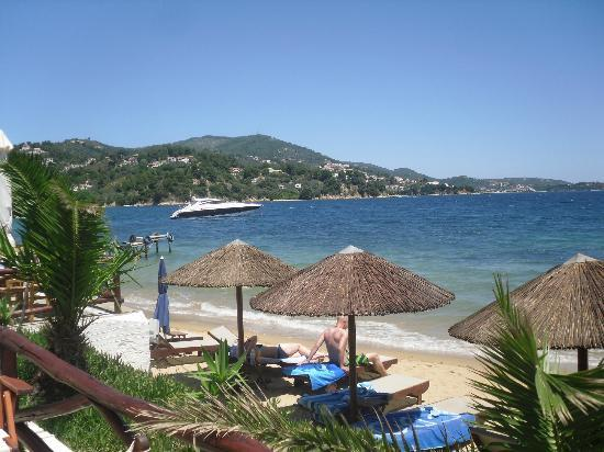 Plaza Skiathos Hotel: Kanapitsa Beach