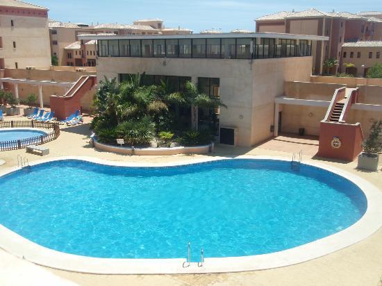 piscina picture of apartamentos leo punta umbria punta