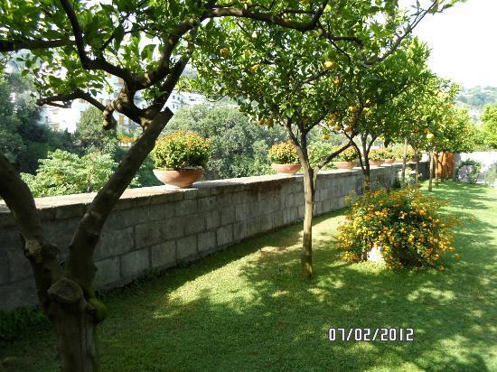 Antiche Mura Hotel : Beautiful Grounds