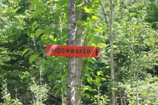 Kingdom Trails: Vast Trail Marker to the Widowmaker