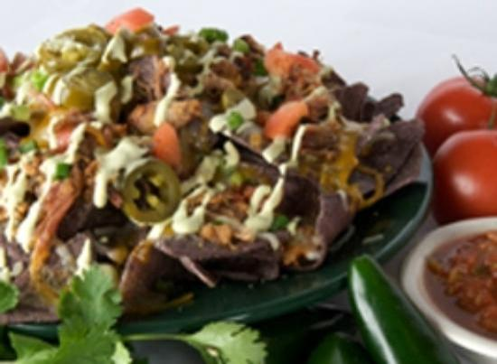 MacKenzie River Pizza Co.: Pulled Pork Nachos
