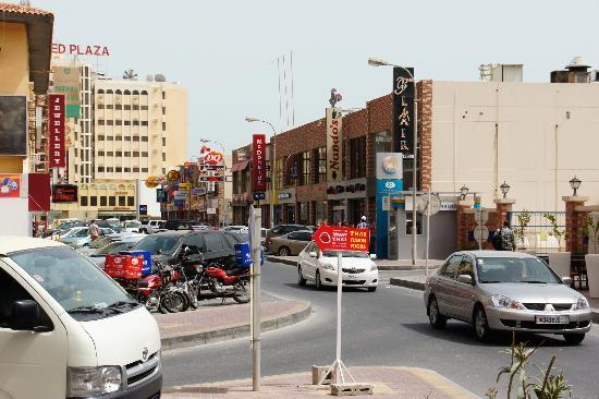 Ramee Suites 4: American Street - just a few minutes walk from the hotel