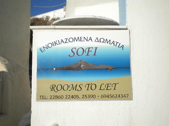 Sofi Rooms: nome hotel