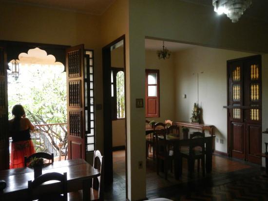 Pousada Rio Negro Guesthouse : Speisesaal