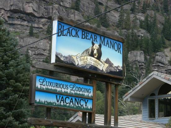 Black Bear Manor: welcome!